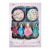princess muffins formar papper