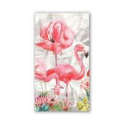 MICHEL DESIGN WORKS - SERVETTER HOSTESS FLAMINGO
