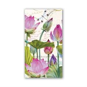 MICHEL DESIGN WORKS - SERVETTER HOSTESS WATER LILIES