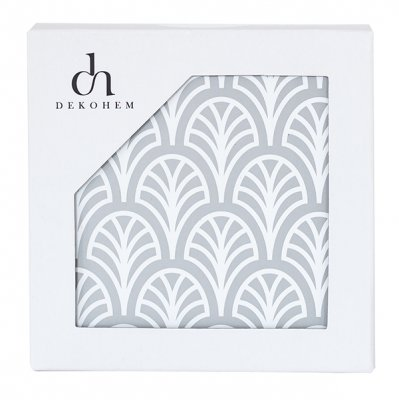 dekohem - palm grey glasunderlägg